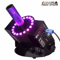 5 PCS/Lot 250W RGB LED CO2 cannon machine shot 8 10m Meters CO2 effects Jet device with 6m hose