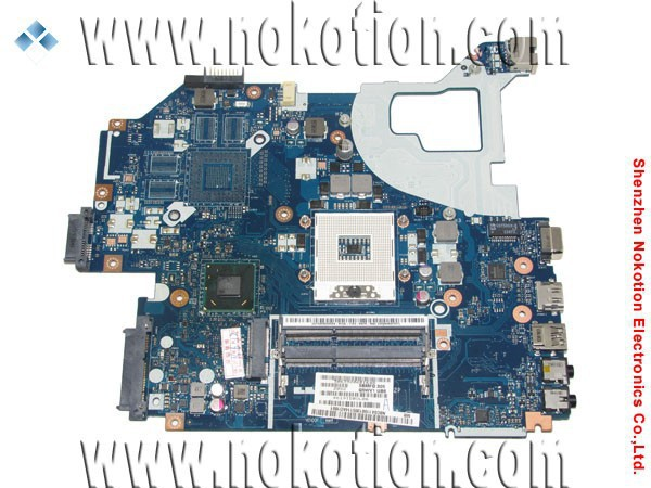 NOKOTION Q5WV1 LA-7912P laptop motherboard for acer NV56R E1-571 v3-571 hm77 gma hd 4000 ddr3 NBC0A11001 support i5 i3 i7 cpu new original ls 7912p for e1 571 e1 531 e1 521 e1 571g e1 531g e1 521g switch power button board with cable test good