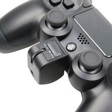 3.5ミリメートルミニハンドルオーディオヘッドセットアダプタへmicphoneイヤホン音声制御ゲームアクセサリーのためのPS4コントローラpsvr PS4 vr