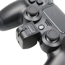 3,5mm Mini Griff Audio headset adapter Micphone Kopfhörer Voice Control Gaming Zubehör Für PS4 Controller PSVR PS4 VR