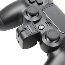 3.5mm Mini uchwyt zestaw słuchawkowy Audio adapter Micphone słuchawki sterowanie głosem akcesoria do grania dla kontrolera PS4 PSVR PS4 VR