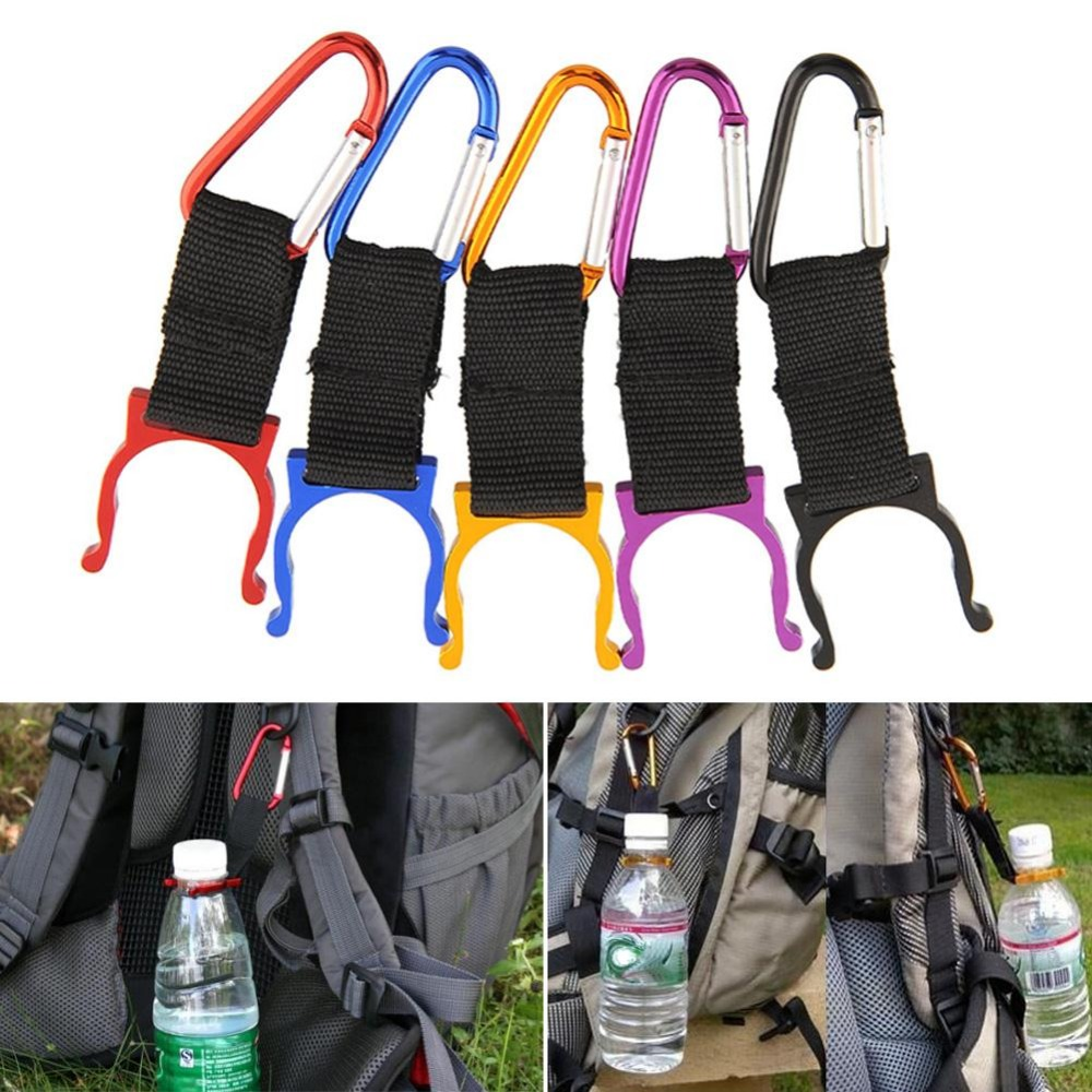 5Pcs Carabiner Water Bottle Drink Buckle Hook Holder Clip Camping Hiking Traveling Key Chain Multi-color5Pcs Carabiner Water Bottle Drink Buckle Hook Holder Clip Camping Hiking Traveling Key Chain Multi-color