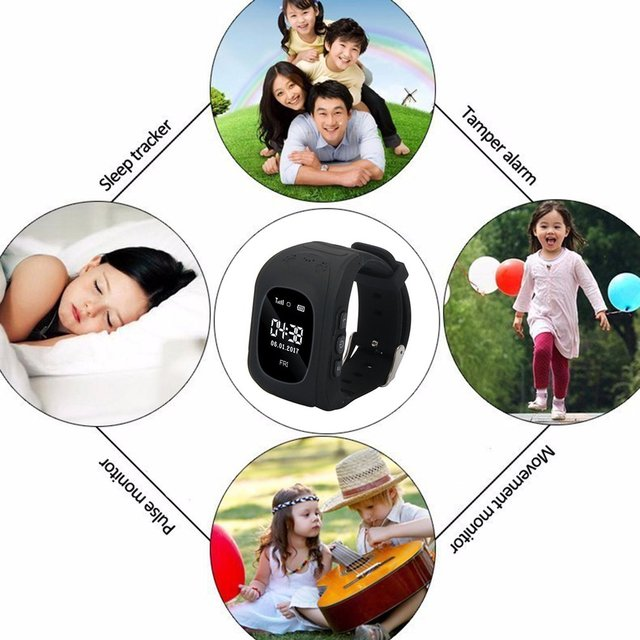 Q50 Smart Watches For Kid Anti Lost Child GPS Tracker SOS Positioning Tracking Smart Phone Kids Watches Clock Baby Best Gift 1