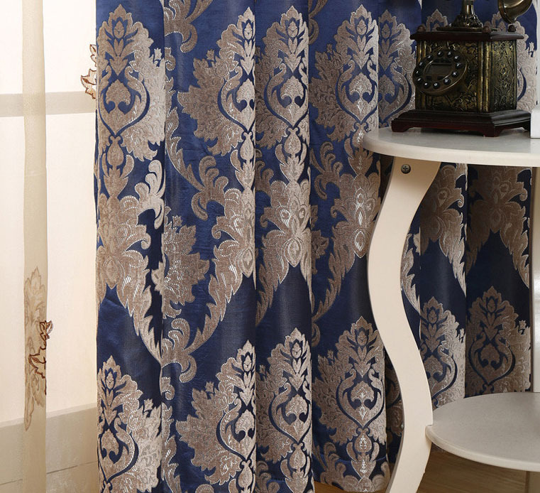 magnetic curtains magnet European shading damask curtains deep ...