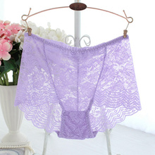 DEWVKV Amazing Sexy Panties Women High Waist Lace Thongs and G Strings Underwear Ladies Hollow Out Underpants Intimates Lingerie