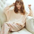 2016 Mujeres del Resorte Pigiami Pijamas Para Las Mujeres Pijama Feminino Femme Ropa de Hogar mujeres Pijama Pijama Pijama Pijama Entero