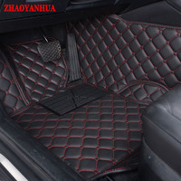 Custom fit car floor mats for Chery A3 A5 E3 QQ QQ3 Arrizo 3 MG 3 5 6 7 3SW car styling liners