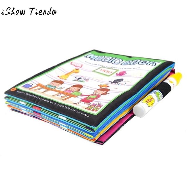 Bebé aprendizaje Juguetes para dibujar Magic Water dibujo libro para ...