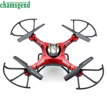 CHAMSGEND Modern Upgrade JJRC H8D 4CH 5.8G FPV RC Quadcopter Drone HD Camera + Monitor+ 4 Battery WSep13