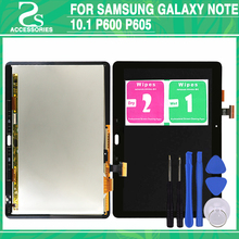 Tested P600 LCD Touch Screen Panel For Samsung Galaxy Note 10 1 P605 Display TouchScreen Digitizer