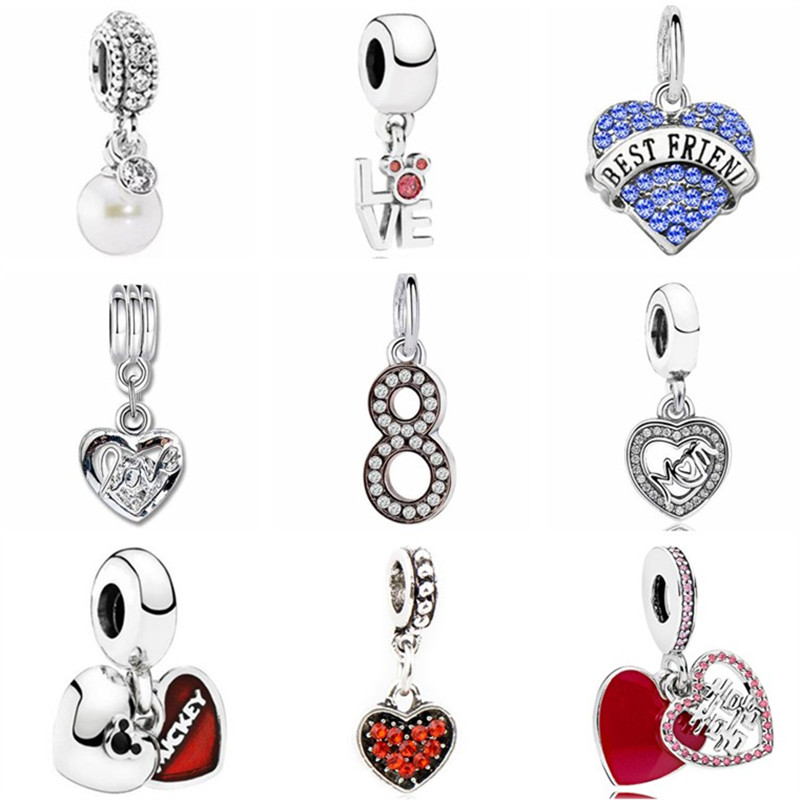 Jewelry & Accessories Radiant Hearts Warm Cocoa Fireworks Christmas Charm Bead Fit Pandora Bracelet Bangle Authentic 925 Sterling Silve Jewelry Professional Design
