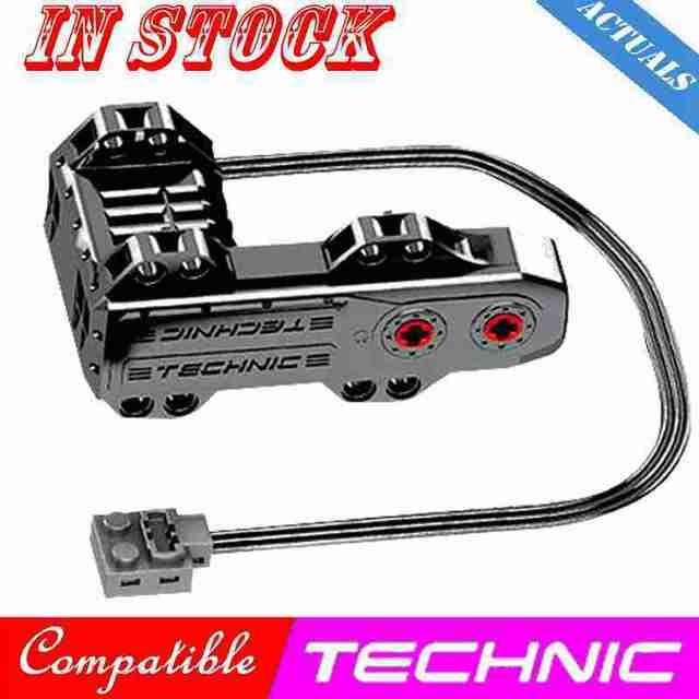 Technic Technical Power Functions Servo City Motor Polarity Switch IR Speed Remote Control Receiver Car Creator Technik Creators