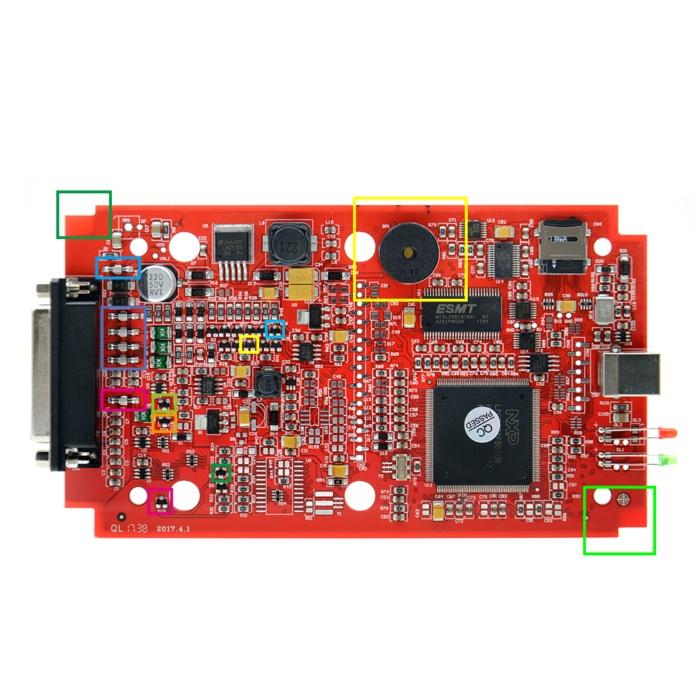 Ktag K TAG V7 020 KESS V2 05 SW V2 23 v2 47 2 47 Herramienta de ajuste de  chip de ECU maestra K-TAG 7 020 en línea Mejor KTAG V7 003