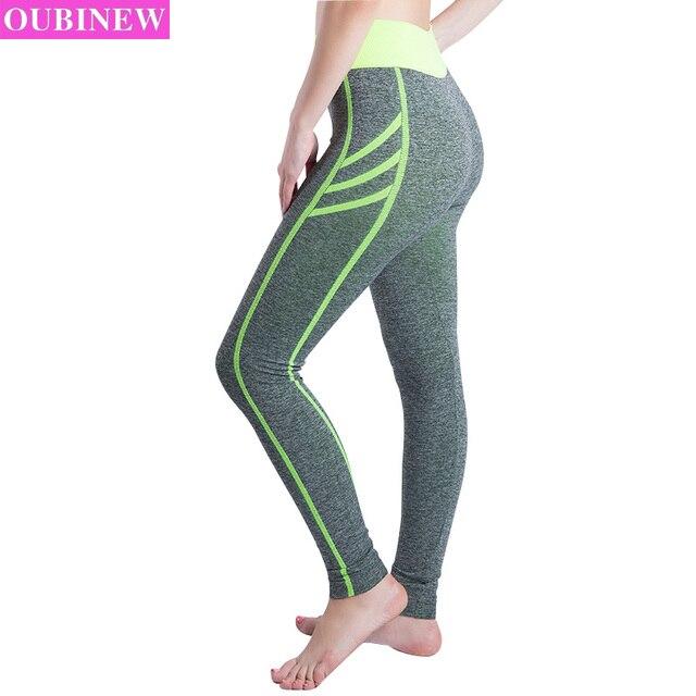acd17587a € 12.05 25% de DESCUENTO|OUBINEW pantalones de chándal deportivos Leggings  Mujer Push Up rápido secado femenino Jeggings Calzas Deportivas Mujer ...