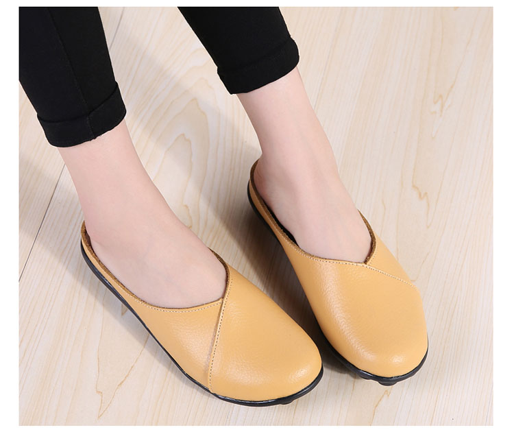 AH 9918-2018 New Women Flats Loafers Shoes-18