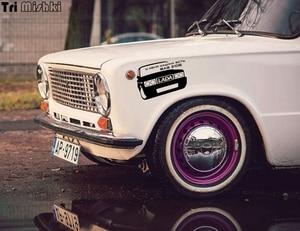 Image 5 - Tri Mishki HZX224 15*19.1cm 1 4 pieces funny car stickers  I have a car vaz 2106 auto car sticker
