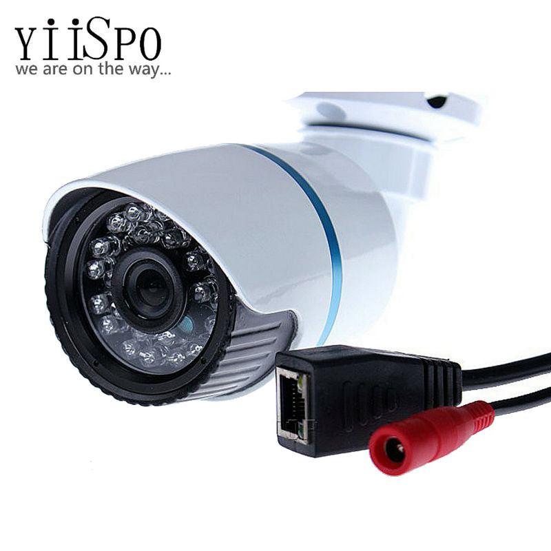 YiiSPO 3.6mm/6mm 1MP Onvif 720P/960P/1080P HD IP Camera Default 25fps Smart Phone View IR-CUT Night Vision CCTV Free Shipping free shipping p2p 720p 1mp hd plug