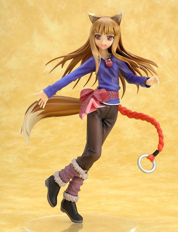 Calede 18cm Japanese Anime Spicy Wolf 3 generations lovely Holo action figure collectible model toys for gift anime spice and wolf holo 1 8 scale pvc figure