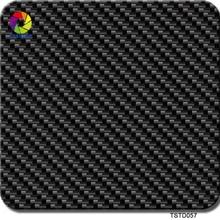 Free shipping TSAUTOP Size 0.5m x 2m carbon fiber water transfer hydrographic film transfer aquaprint TS057