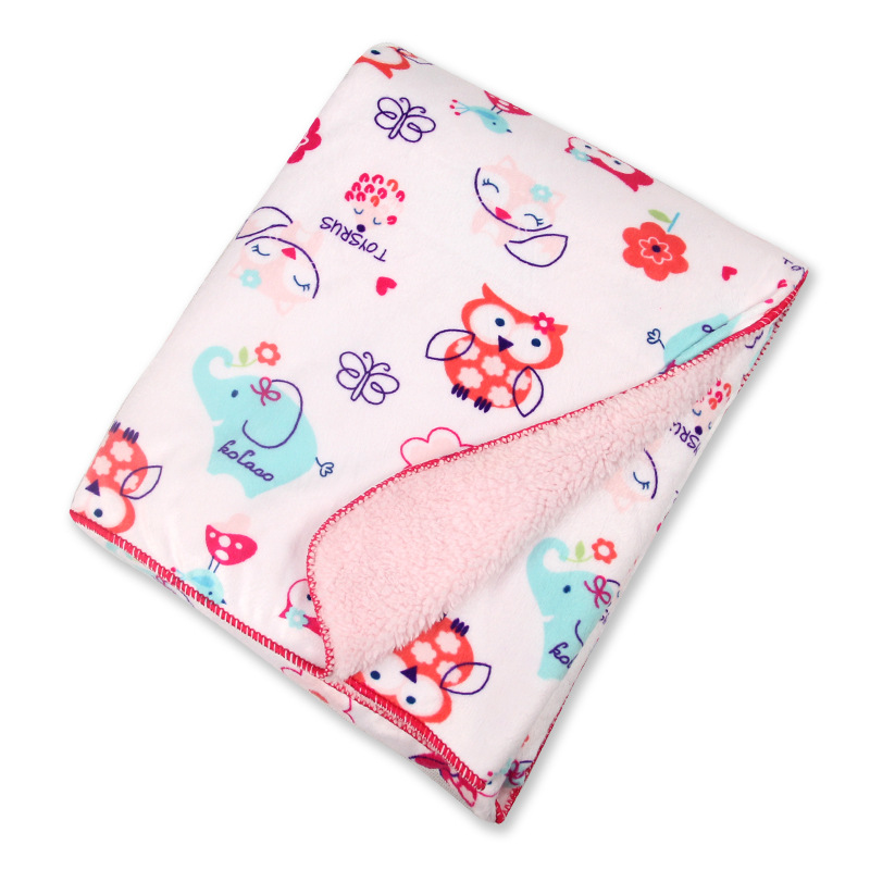 Nyfødt baby-teppe vinter høst barn tykt bomull cashmere teppe reise mottak tepper for seng sofa infantil cobertor