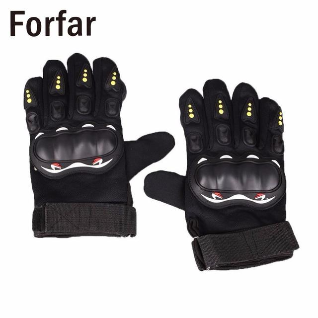 Forfar 1 Pair Skateboard Freeride Grip Slide Protective Gloves Longboard with Foam Palm