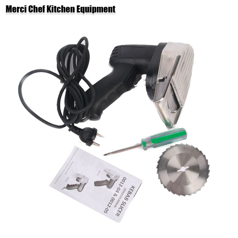 Kebab Slicer Kitchen Knife Doner Cutter Gyros Meat Cutting Machine two blades quality guaranteed 110V-240V 1pc hot sale 100%quality guaranteed doner kebab slicer two blades electrical kebab knife kebab shawarma gyros cutter