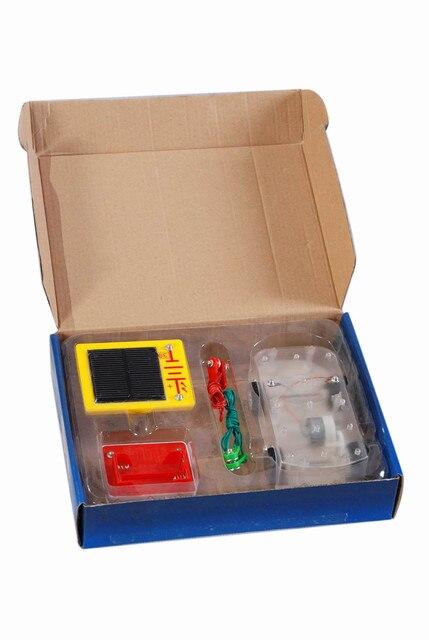 kids toys for boys girls solar toy car diy W-08 Solar DIY Variable Building Blocks Vehicle Electronic Discovery Kit car gadgets 3