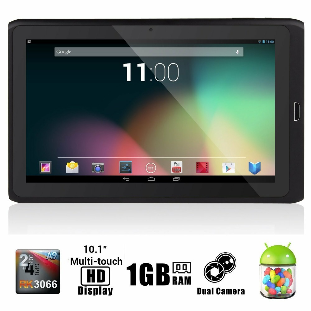 "Free Shipping OEM - BoDa 10.1"" Google Android 4.1 Tablet PC Dual Core 1Gb 8Gb Wifi HDMI RJ54 By DHL EMS(China)"