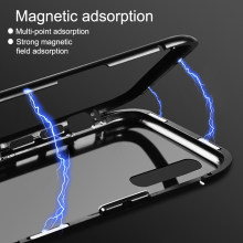 360 Metal Magnetic Adsorption Case For Huawei Nova5/5i/5Pro Tempered Glass Cover for Nova 3/3e/3i/Nova4/Nova 5 Pro Magnet Case(China)