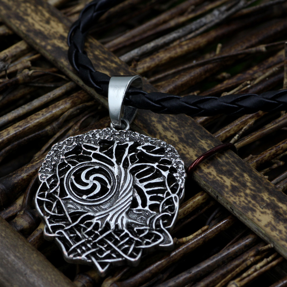 Tree of life necklace family tree slavic rod symbol pendant aeproducttsubject buycottarizona Gallery