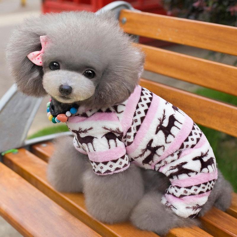 Χειμώνας ρούχα σκυλιών Snowflake Fleece - Προϊόντα κατοικίδιων ζώων - Φωτογραφία 4