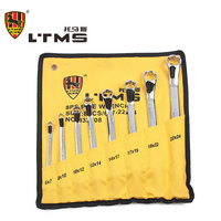 High Quality Alloy Steel Precision Forged Double Plum Wrench Set Hardness Up To HRC48 Easy To