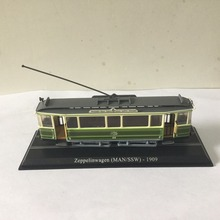 цена на LIMITED 1:87 ATLAS Zeppelinwagen (MAN/SSW) - 1909 TRAM Model for gift in perfect condtion