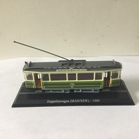 LIMITED 1:87 ATLAS Zeppelinwagen (MAN/SSW) 1909 Diecast Train Model for gift in perfect condtion