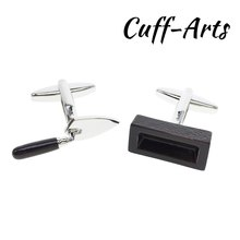 Cufflinks for Mens Builders Shirt Cuff links Gifts Men Gemelos Les Boutons De Manchette by Cuffarts C10253