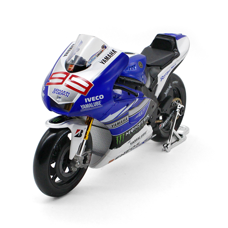 110 maisto motorcycle model toy alloy abs racing motorbike simulation yamaha