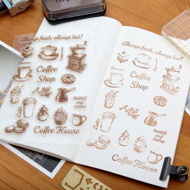 19st Stämpel Transparent Silikon Retro Ikon Rensa Stämplar För - Konst, hantverk och sömnad - Foto 5