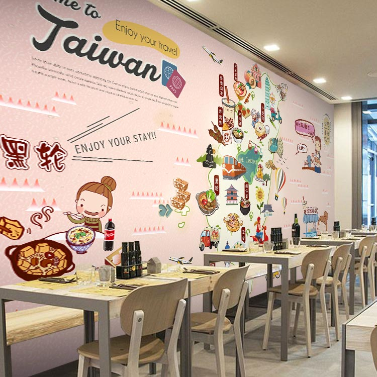 Free Shipping chinese fashion gourmet wallpaper coffee shop Dessert Cake Bakery bar background imported snack wallpaper mural  free shipping 3d dessert cake gourmet theme restaurant wallpaper cake shop dessert coffee dessert snack bar mural