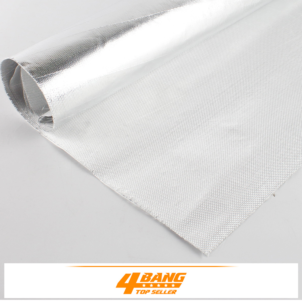 6PCS 50cm*30cm  Aluminium Foil Shield Heat Insulation Environmental Protection Delayed Thermal Conduction Radiant Barrier