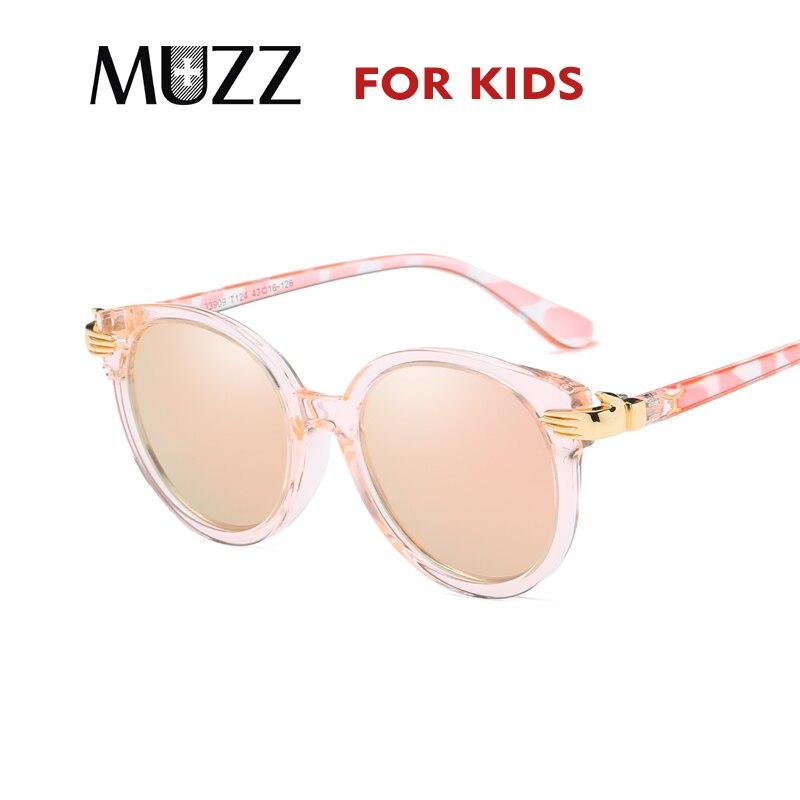 Aufstrebend Muzz Sonnenbrille Kinder Designer Kinder Retro Sonnenbrille Uv400 Baby Mädchen Oculos Kühlen Brille Junge Kind