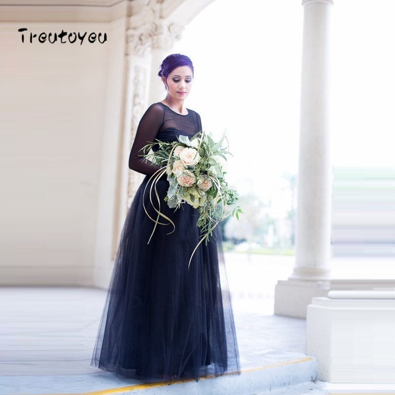 5 Lapisan Panjang Tutu Rok 2018 Musim Panas Mode Womens Putri Peri Gaya Voile Tulle Rok Fashion Puffy Bouffant