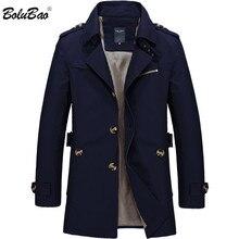 BOLUBAO חדש גברים אופנה מעיל מעיל אביב מותג גברים של מזדמן פראי Fit מעיל מעיל מוצק צבע זכר מעיל גשם