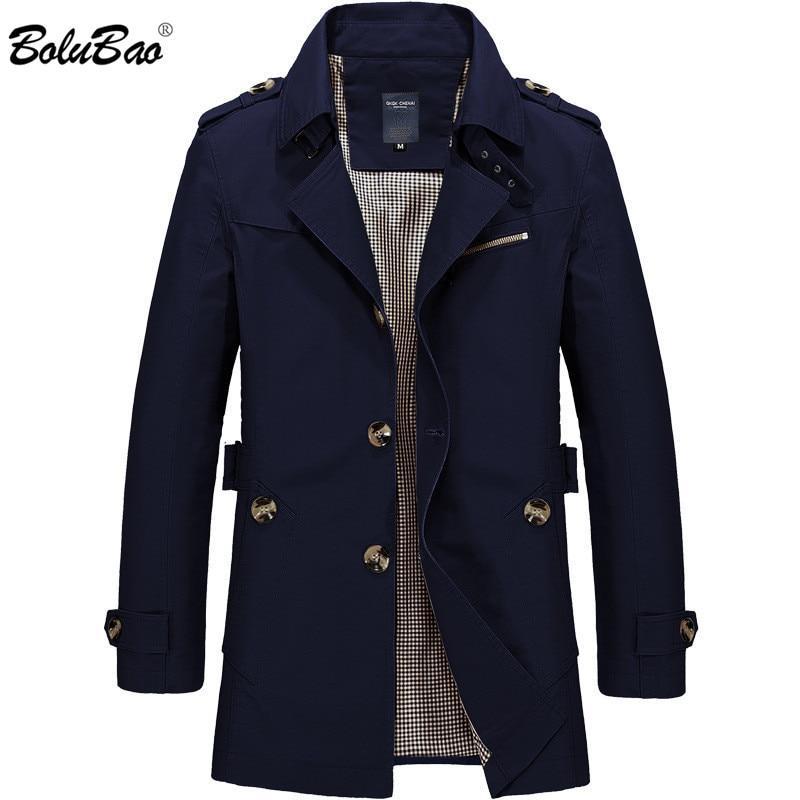 BOLUBAO Men Jacket Coat Fashion Trench Coat New Spring Brand Casual Fit Overcoat Jacket Outerwear Male Innrech Market.com