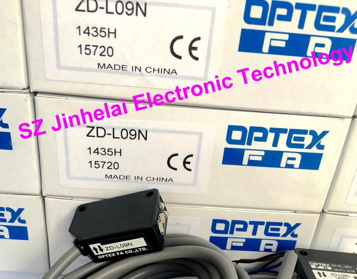 New and original  ZD-L09N  OPTEX   PHOTOELECTRIC SWITCH  NPN OUTPUT 100% new and original fotek photoelectric switch mr 10x npn