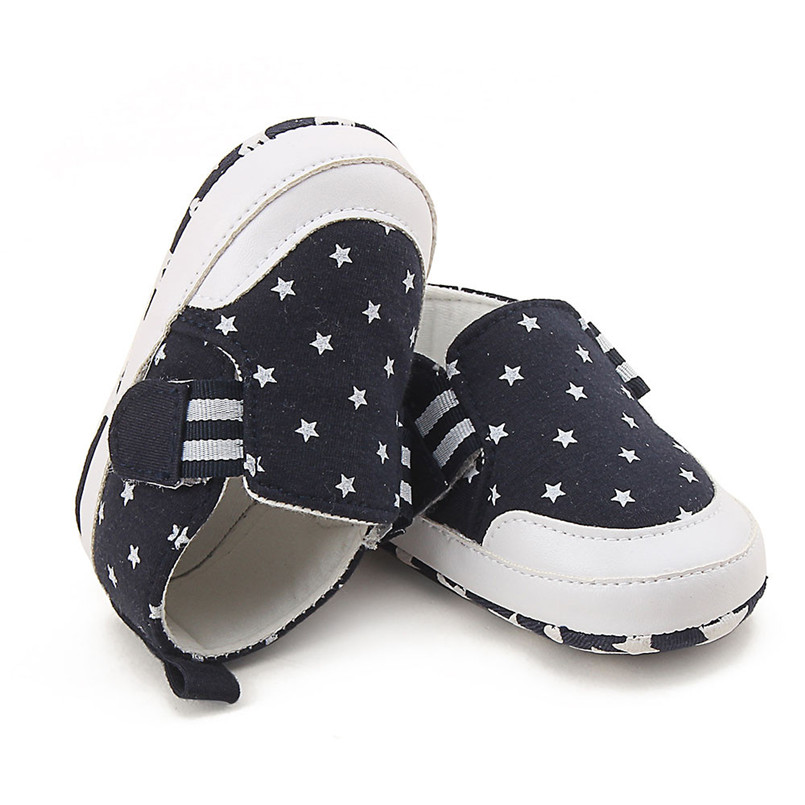 Baby shoes 2019 new Newborn Infant Baby Girl Boy Print Crib Shoes Soft Sole Anti-slip Sneakers Shoes #4M14 (1)