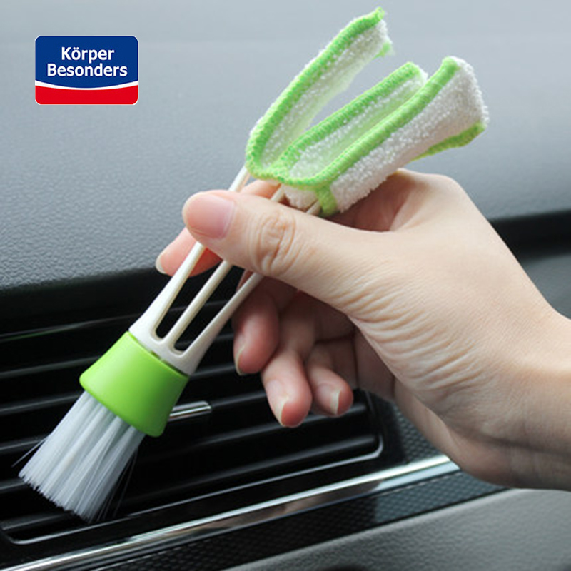 1PCS Car Washer Microfiber Car Cleaning Brush For Air-condition Cleaner Computer Clean Tools Blinds Duster Car Care Detailing
