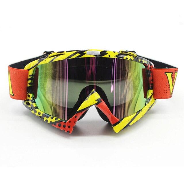 Nordson ao ar livre óculos de proteção da motocicleta ciclismo mx fora de estrada de esqui esporte atv bicicleta da sujeira óculos de corrida para a raposa motocross óculos google 6
