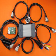 mb star c3 multiplexer software hdd star diagnostic tool work for mb cars with 5 relay cables
