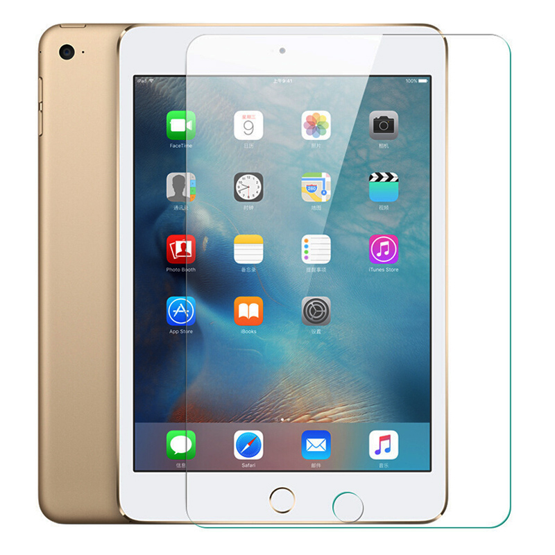 For iPad Air 1 5th Air 2 6th Genuine Tempered Glass Screen Protector A1474 A1566