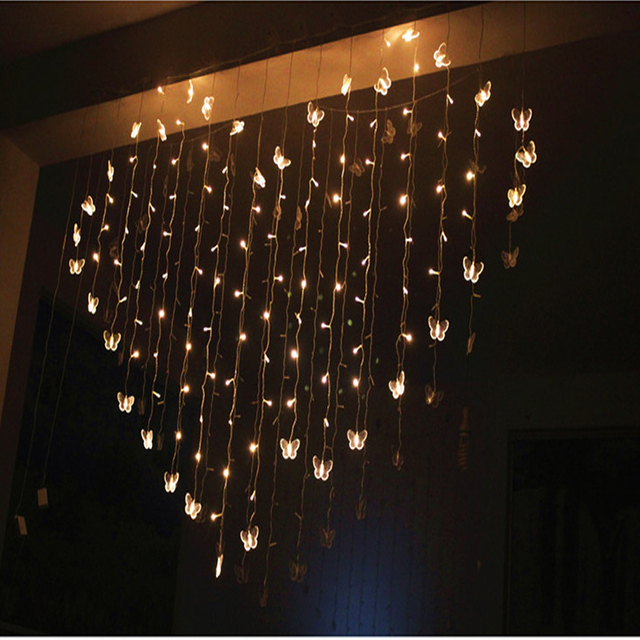 2m x 14m 3 w led heart shaped string lights valentines day indoor and - Valentine String Lights